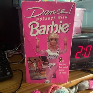Dance Workout With Barbie VHS 1992